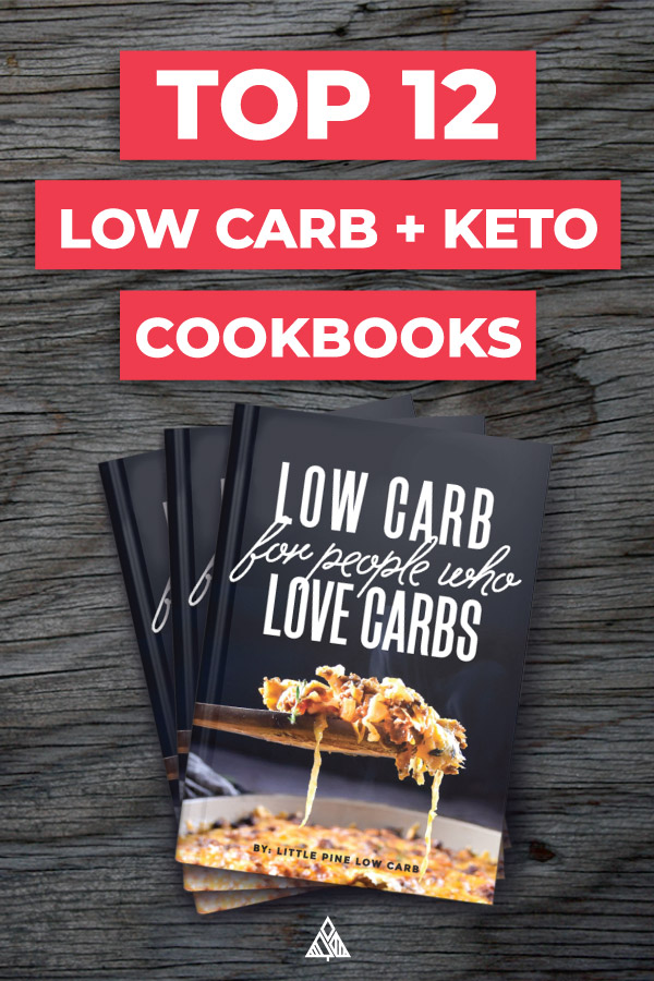 The TOP low carb cookbook options — from easy to unique recipes you've never tried before! #lowcarbcookbook #ketocookbook