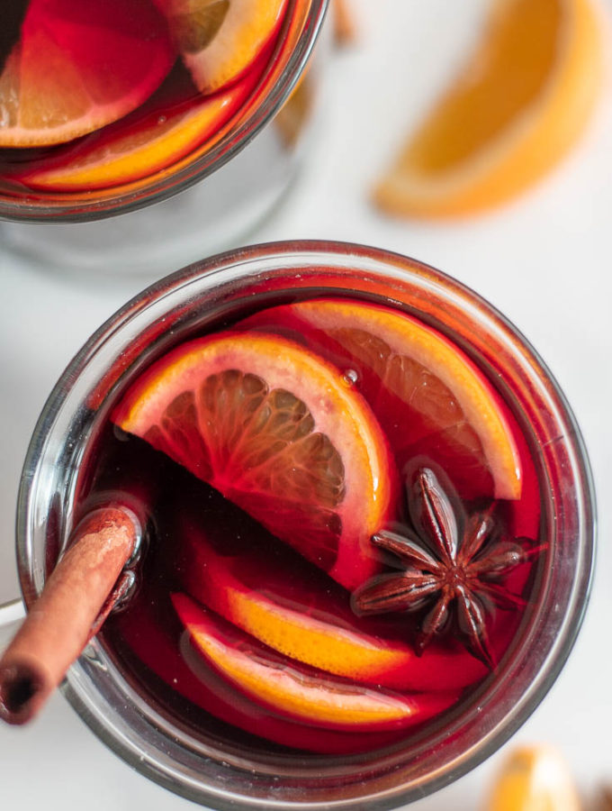 Low Carb Mulled Wine