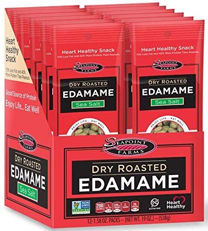 edamame, low carb snacks