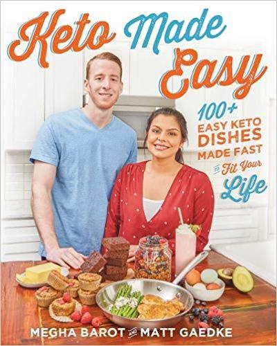 keto made easy, low carb cookbook