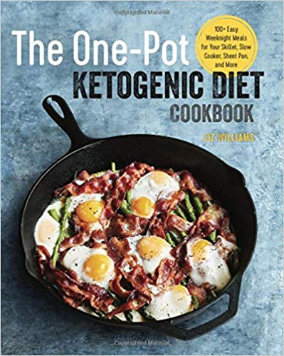 the one pot ketogenic diet cookbook, low carb cookbook