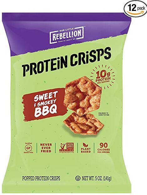 protein chips, low carb snacks