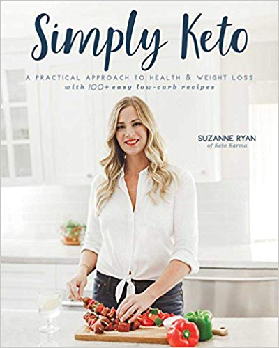 simply keto, low carb cookbook