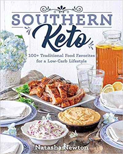 southern keto, low carb cookbook