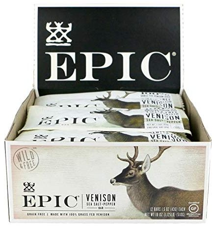 epic venison, low carb snacks