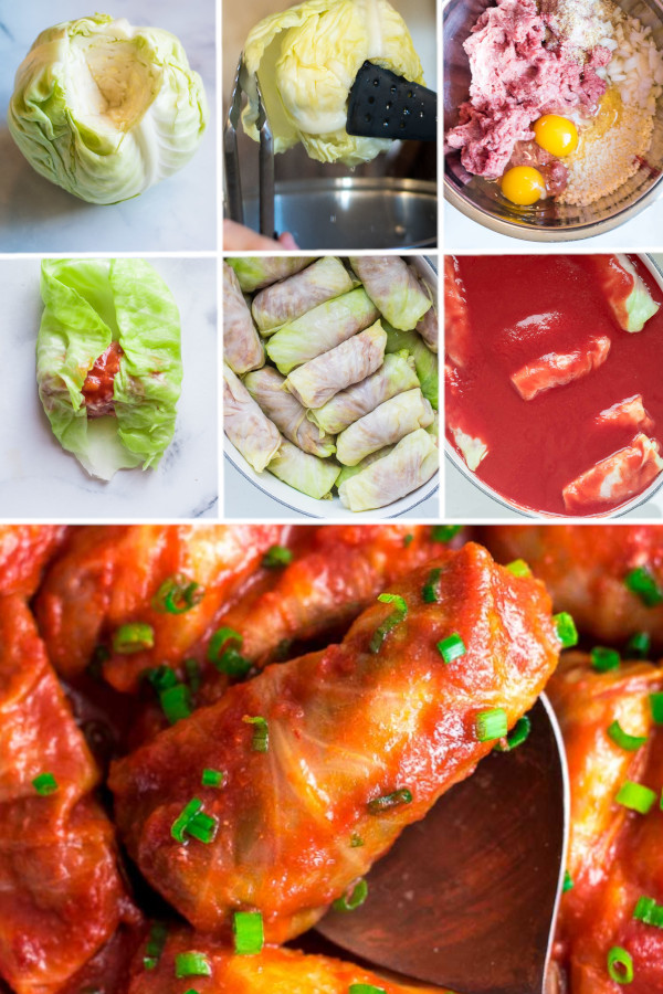 Have you had stuffed cabbage rolls before?🤩 . Holy wow, they're incredible. We saw them all over Poland and realized they were significantly higher in carbs than my meal plan would allow. As soon as I got back, I tried making a keto version and we can't get enough! . Click the link in my profile for this keto cabbages rolls recipe. #ketocabbagerolls #lowcarbcabbagerolls
