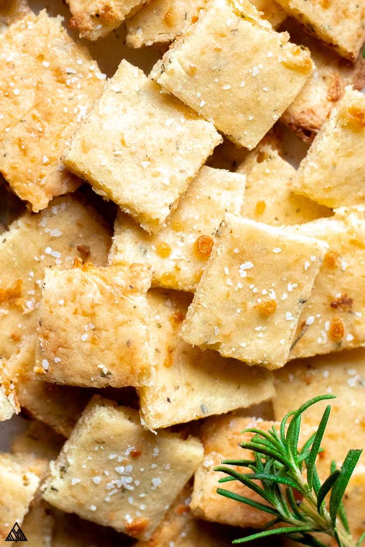 keto cracker recipe vegan