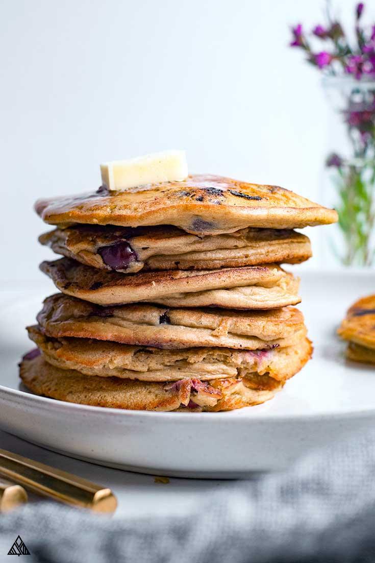 Layer of pancakes