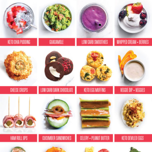 Whether you're on the go or you're looking for easy snacks for the kids, these low carb snack ideas are here to fill you up with the tastiest keto foods out there! #lowcarbsnacks #ketosnacks