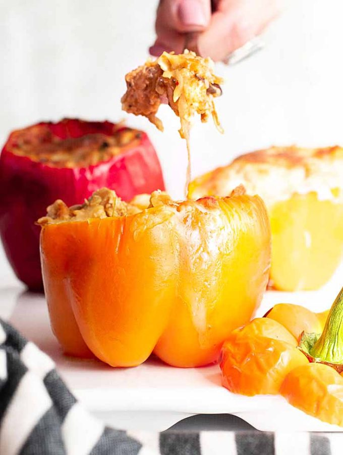 Stuffed Peppers Without Rice