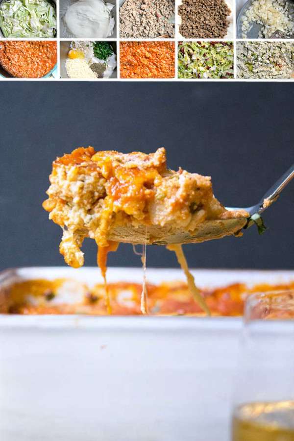 Looking for the lowest carb, cheesiest, most delicious, family favorite lasagna recipe? 🤤🤤🤤 . Look no further than this cabbage lasagna -- seriously you wont miss the noodles for a second, when you sink your pearly whites into this dish. The cabbage is covered in cheese and juicy sauces, you'll think you died and went to low carb heaven! #lowcarbcabbagelasagna #ketocabbagelasagna