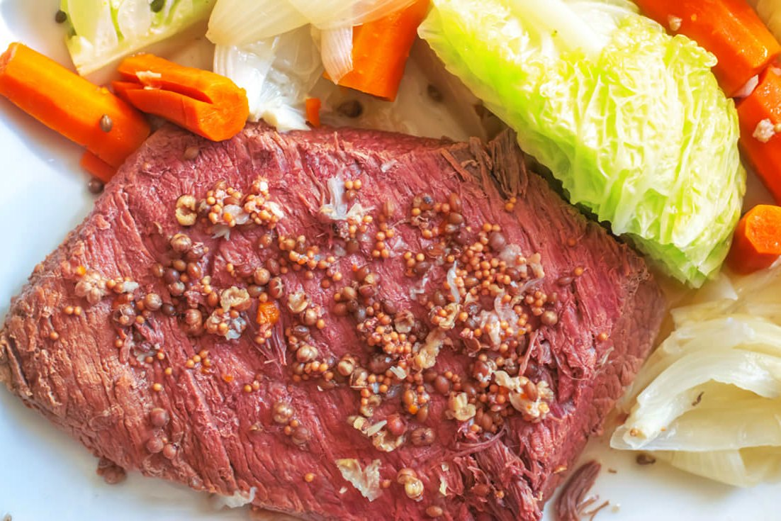 Instant pot corned beef with vegetables