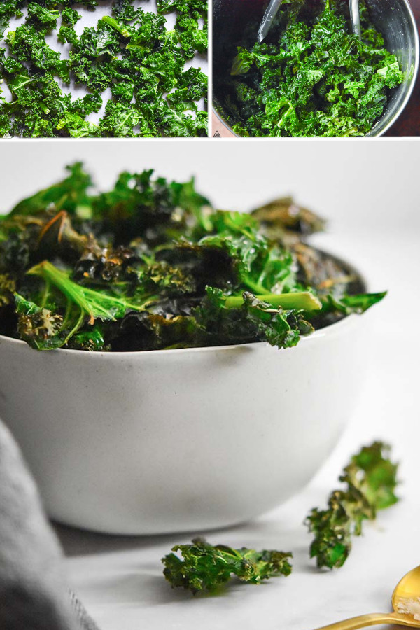 How do you feel about kale?? 👍👎 . If you gave it a 👍 then you should definitely check out this kale chips recipe! It's one of my favorite keto/low carb snacks when I'm craving something salty and chip-like...#kalechips #lowcarbkalechips