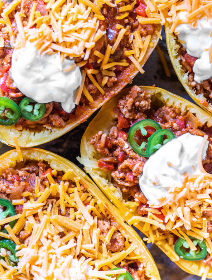 Keto Chili Boats