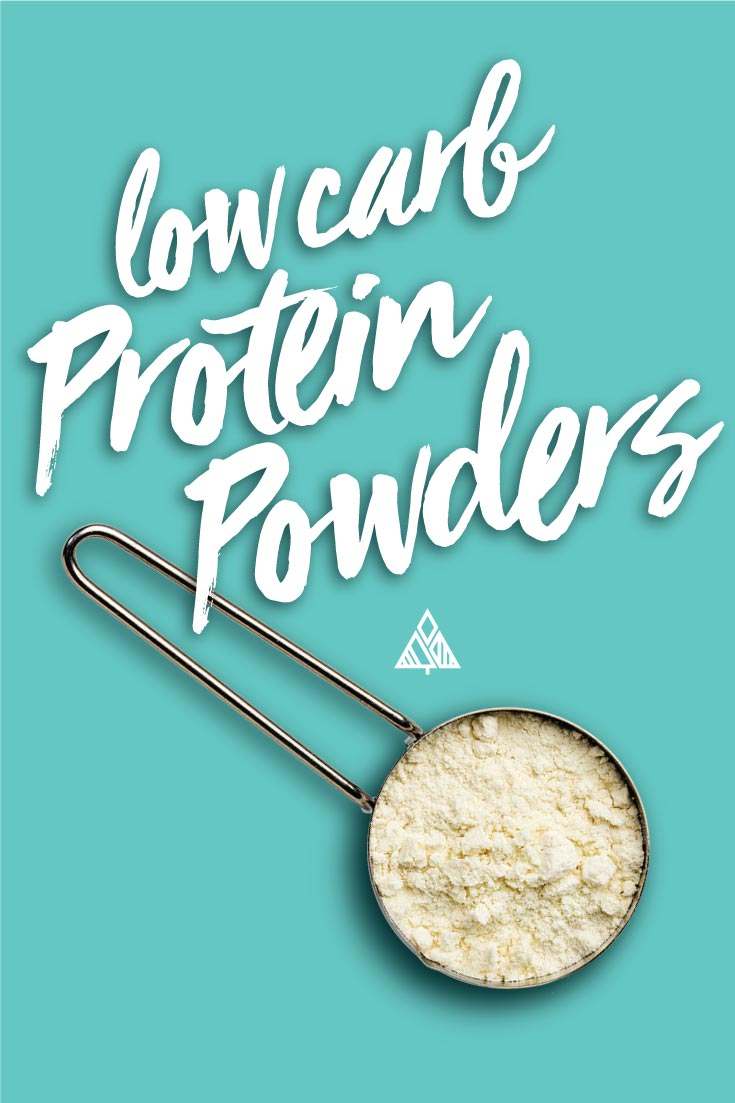 Graphic of low carb protein powders