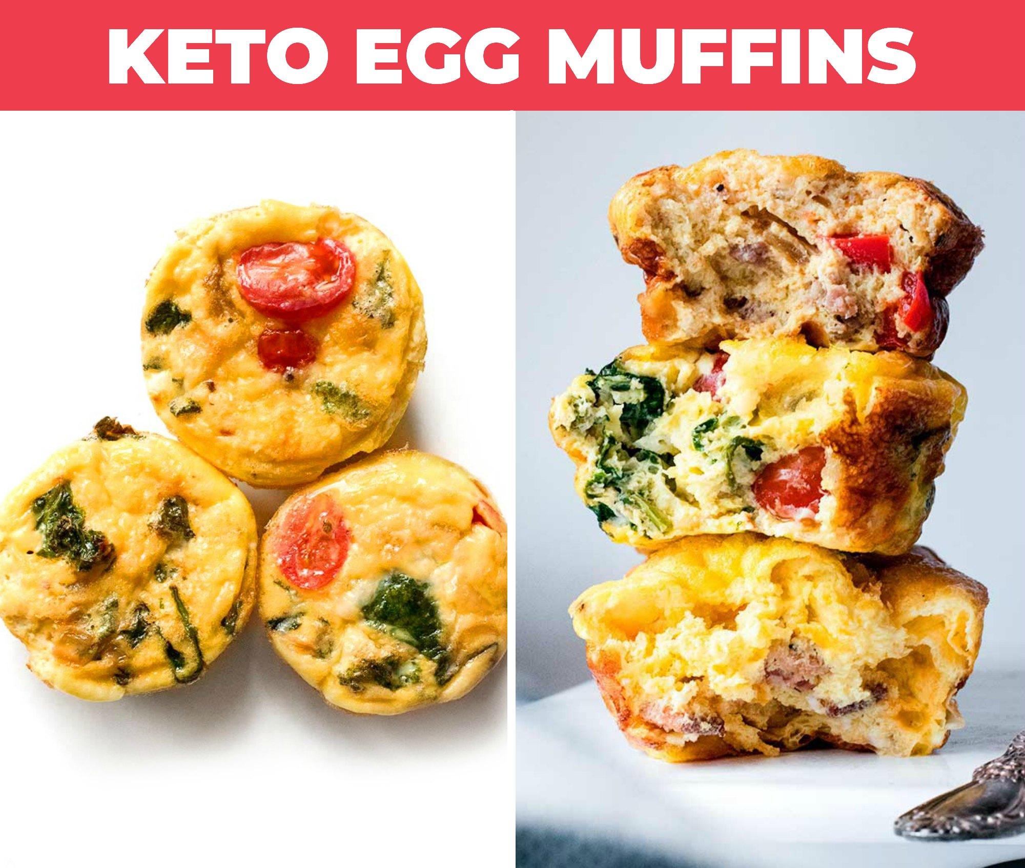 Image of keto egg muffins