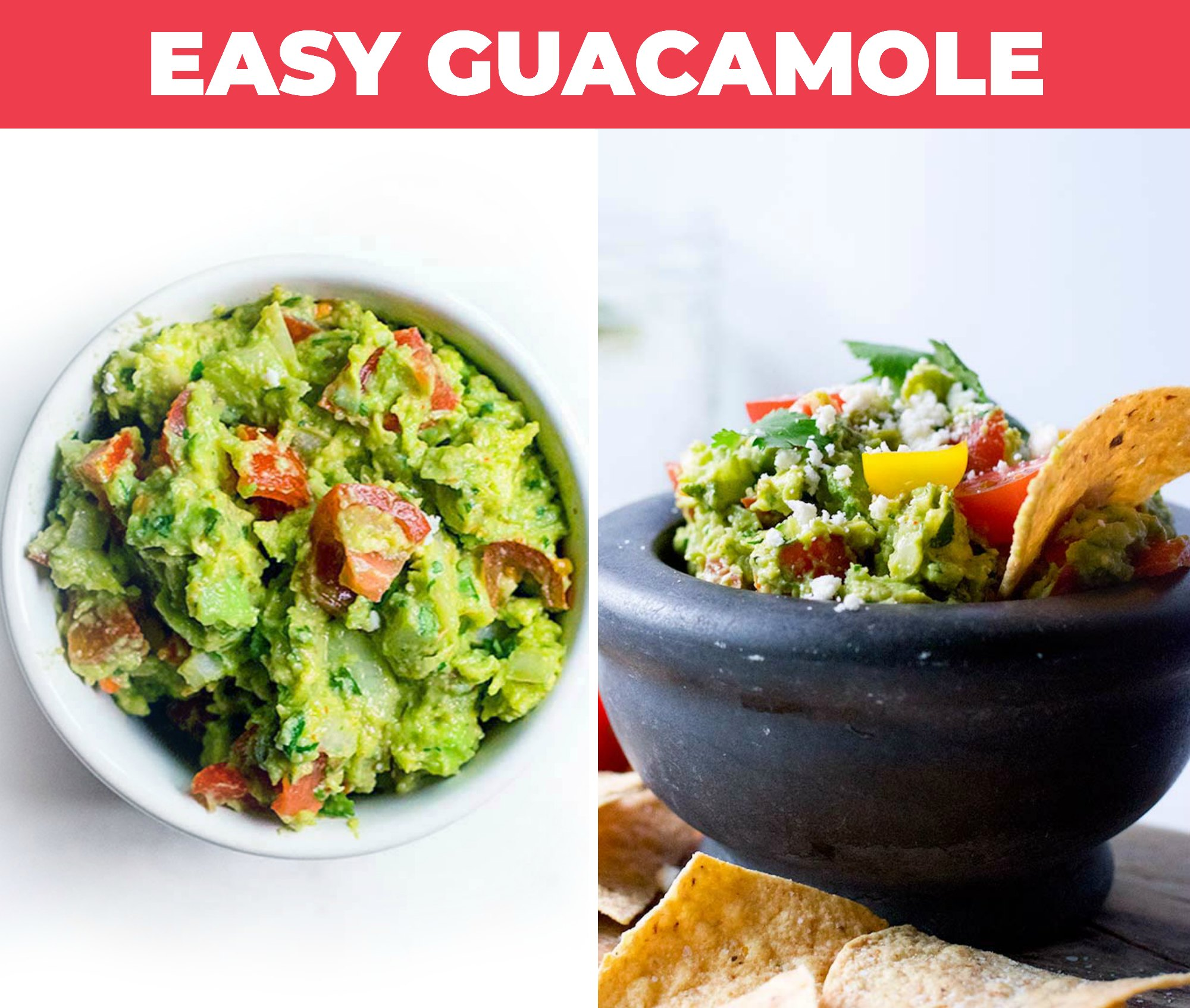 Image of guacamole in a small bowl