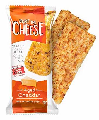 carb free snacks, just the cheese bars