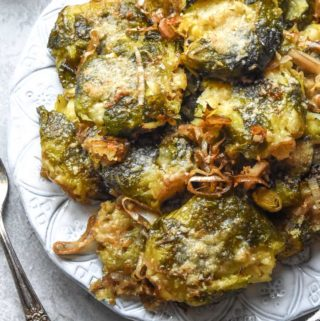 Smashed Brussel Sprouts (Keto + Low Carb!)