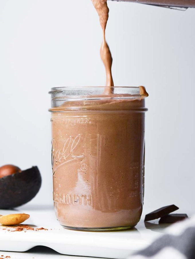 Low Carb Peanut Butter Smoothie (Ready in 5!)