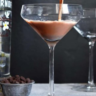 Chocolate Low Carb Martini – Decadently Delicious!
