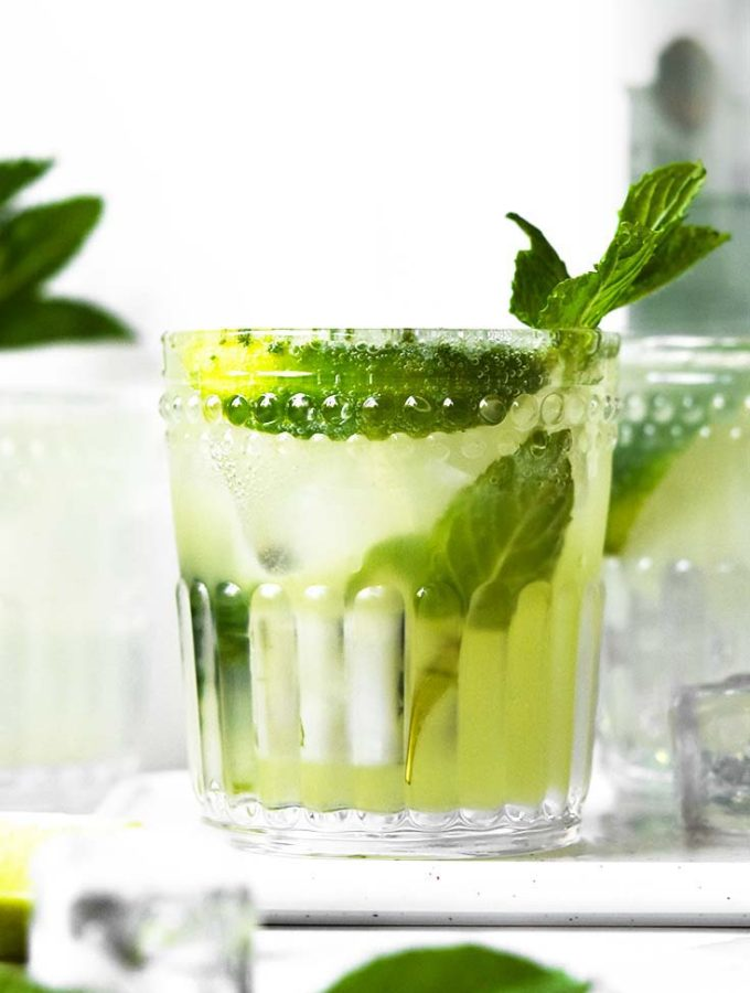 Keto Mojito (3g Net Carbs/Cocktail!)