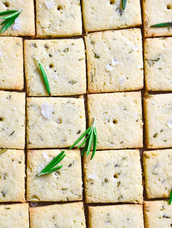 The BEST Low Carb Crackers — A Paleo, Gluten Free Snack!
