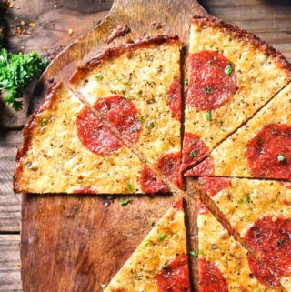Crustless Pizza (2 Ingredients!!)