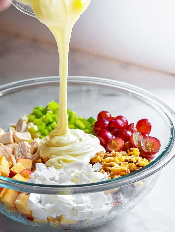 Chicken Salad with Grapes (10 Minutes!)