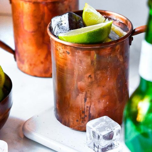 2 cups of keto moscow mule
