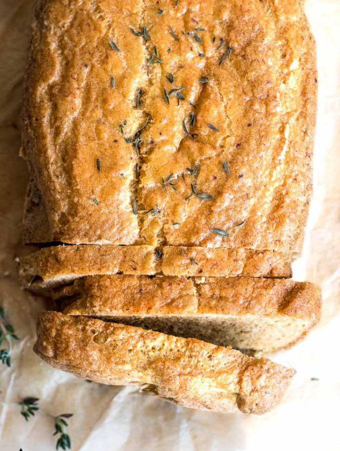 Almond Flour Bread (2g Net Carbs!)