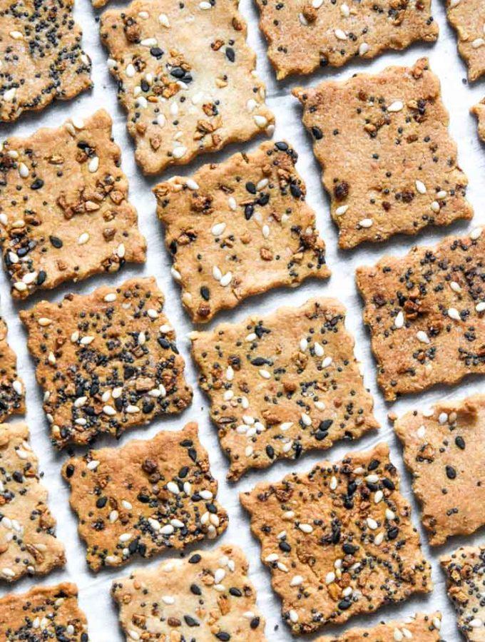 Almond Flour Crackers (2g Net Carbs!)