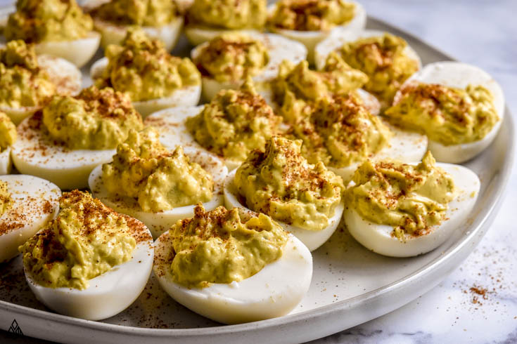 One of the best deviled eggs recipes is classic deviled eggs