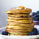 Coconut Flour Pancakes (Keto + Dairy Free!)