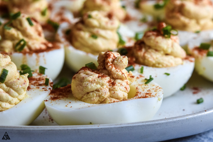 One of the best deviled eggs recipes is deviled eggs without mayo