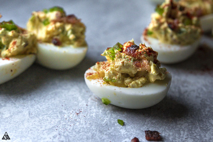 One of the best deviled eggs recipes is jalapeno deviled eggs