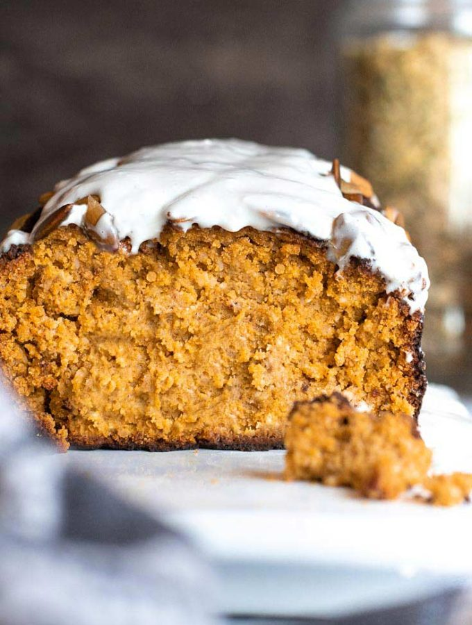 Low Carb Pumpkin Bread (4g Carbs/Slice!)