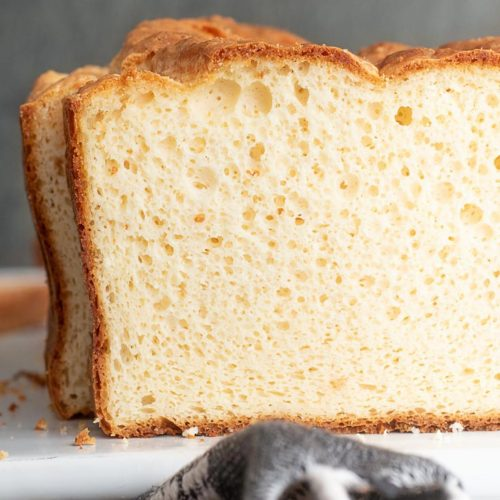 Side view of soul bread