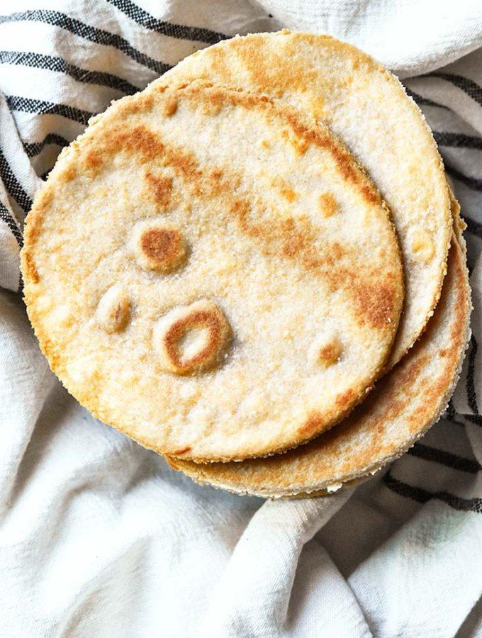 Almond Flour Tortillas (2g Net Carbs/Tortilla!)