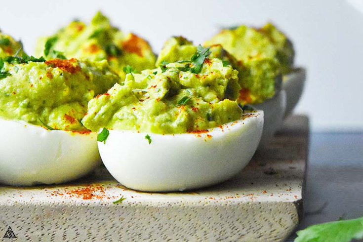 One of the best deviled eggs recipes is avocado deviled eggs is avocado