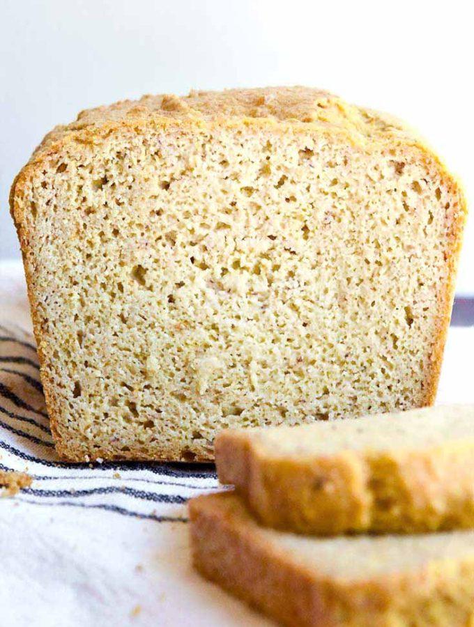 Low Carb Sandwich Bread (2g Net Carbs/Slice!)