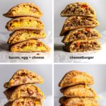 The thing about keto hot pockets that will probably blow minds—it's SO delicious that it will probably taste like a treat, but really it's just one of those low carb foods that do your body good. #ketohotpockets #lowcarbhotpockets