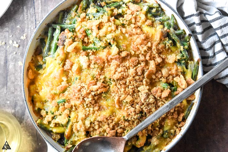 One of the best low carb thanksgiving recipe is low carb green bean casserole