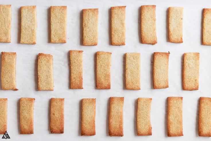 plain almond flour shortbread cookies