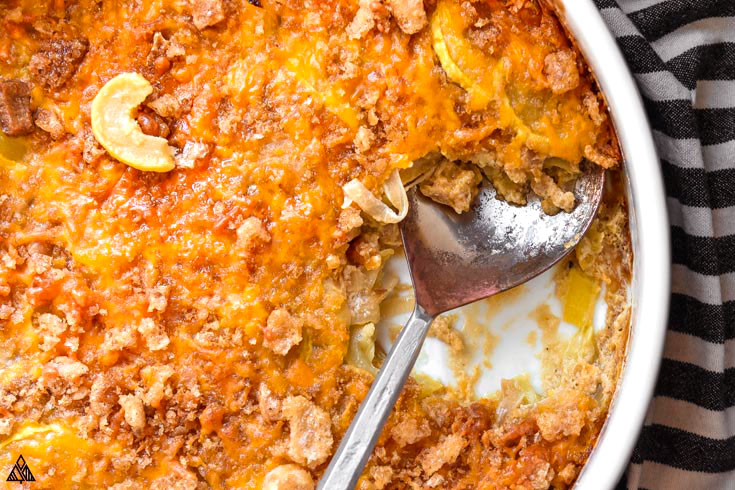 One of the best low carb casseroles recipes is low carb squash casserole