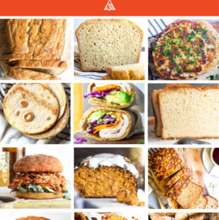 *NEW* Looking for that one spectacular low carb bread recipe?! Well, have I got a surprise for you! I have THIRTY of your new fave bread recipes right here! #ketobread #lowcarbbread