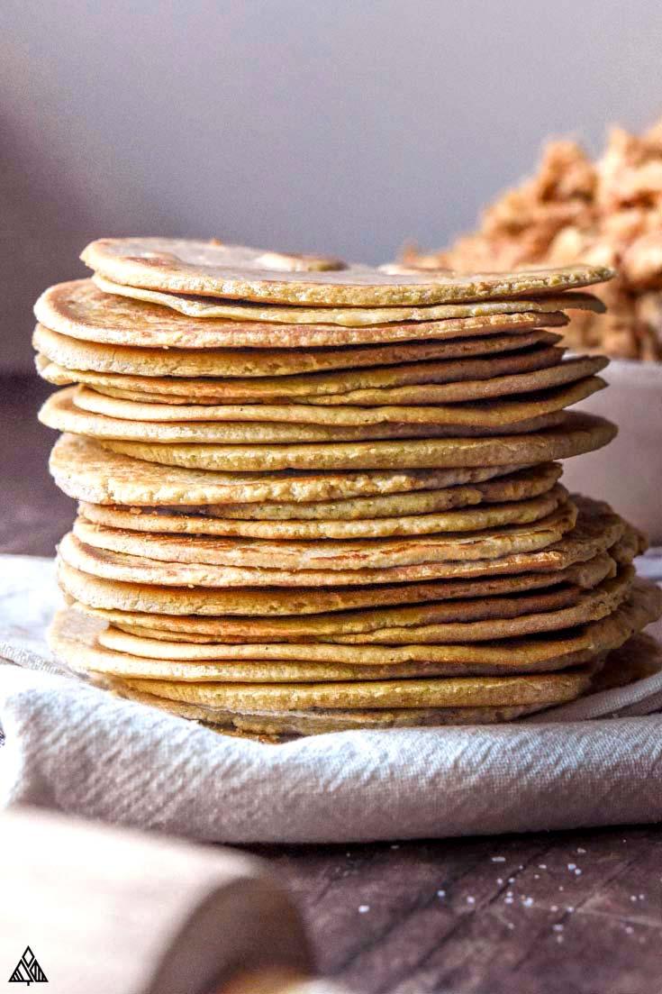 pile of ketp tortillas